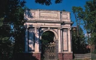 Орловские ворота. Wikimapia