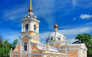 Церковь Пресвятой Троицы. Фото: Виктор Спиридонов