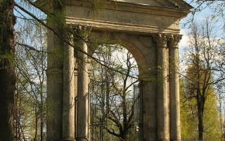 Гатчина. Адмиралтейские ворота