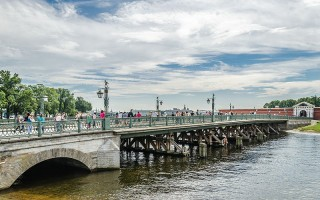 Иоанновский мост. Автор:  Florstein,  Wikimedia Commons