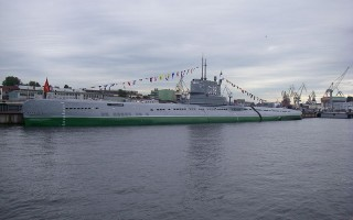 Подводная лодка С-189, переоборудываемая в музей. Автор: One half 3544, Wikimedia Commons