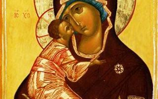 Владимирская икона Божией Матери. Фото: mitropolia.spb.ru