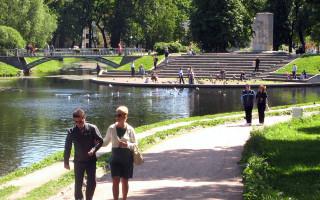 Таврический сад. Фото: Андрей Крижановский (Wikimedia Commons)