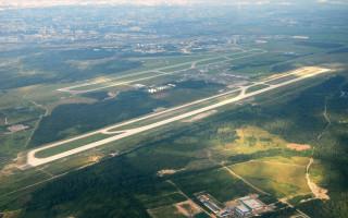 "Аэропорт ""Пулково"". Фото: (Overview JP6637311)  Anton Bannikov"