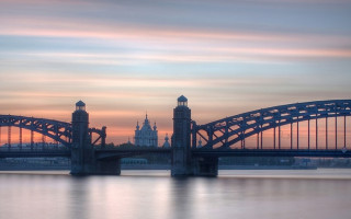 Большеохтинский мост. Фото: Vlad&Mirom