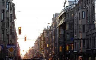Большой проспект Петроградской стороны, источник фото: Wikimedia Commons, Автор: Florstein