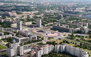 Московский район Санкт-Петербурга. Автор: Петров А. П.