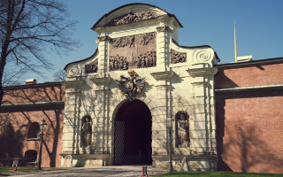 Петропавловская крепость. Петровские ворота