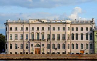 Дом Бецкого И.И. (принца Ольденбургского П.Г.): Дворцовая набережная, 2. Фото: Alexandrova (Wikimedia Commons)