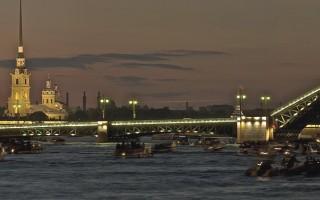 Дворцовый мост через Неву, источник фото: Wikimedia Commons, Автор: VFedorovski