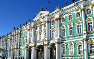 Эрмитаж, Зимний дворец в Санкт-Петербурге, Картинка зимнего дворца — Фото автора Artzzz