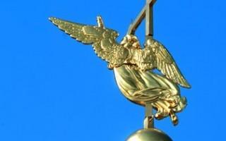 Ангел на Петропавловской крепости