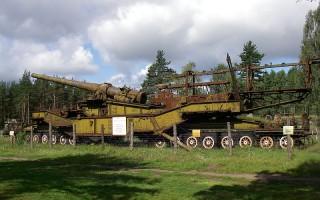 305-мм установка ТМ-3-12, источник фото: Wikimedia Commons Автор: One half 3544