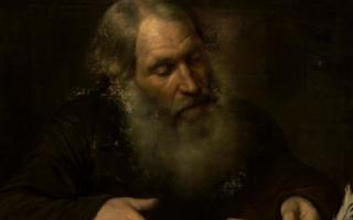 Неизвестный художник. Купец, считающий деньги. 1840-е Холст, масло. ГРМ, источник фото: http://www.rusmuseum.ru/stroganov-palace/exhibitions/every-penny-counts/