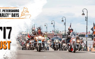 Мотофестиваль St.Petersburg Harley Days, фото с сайта