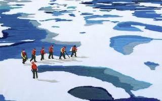 """""""Северный путь"""" — выставка американской художницы Лоурен Хартман"""