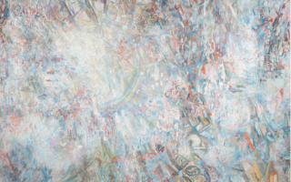 П. Н. Филонов. Формула периода 1904 по 1922 год (Вселенский сдвиг через Русскую революцию в мировой расцвет). Холст, масло. ГРМ