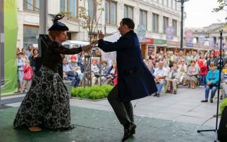 Театральный Петербург на Книжных аллеях, источник фото: https://vk.com/bookswalks