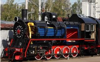 Паровоз Эр-791-81 в Музее железных дорог России в Петербурге. Источник фото: http://railway-museum.ru