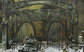 А. Н. Блиок. Ленинград, блокада. Январь 1943 г.