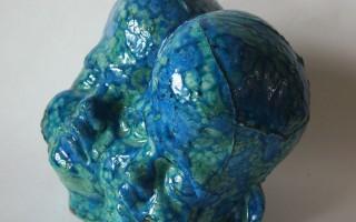 """Картина Юлии Беловой на выставке """"Point of Mind"""""""