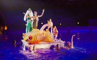"Новогоднее шоу на воде ""Сказка о царе Салтане"""