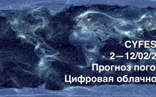 """Фестиваль медиаискусства """"11-й Киберфест-2018"""""""