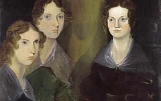 Портрет сестер Бронте, нарисованный их братом Бреннуэллом