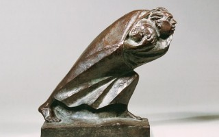 Э. Барлах. Беженец. 1920. Бронза