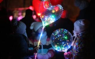 Фестиваль волшебных шаров в Парке имени Бабушкина