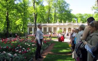 Ботанические экскурсии в Летнем саду. Фото: Юлия Тихомирова