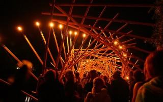 """Фестиваль светового искусства """"Ночь света"""" в Гатчине"""