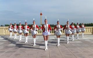 """Парад барабанщиков на """"День города"""". Установление рекорда"""