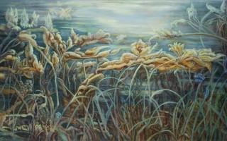 """Выставка Ольги Тобрелутс """"Летнее платье"""" в Marina Gisich Gallery"""