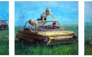 """Выставка Андрея Шатилова """"Истории"""" в Галерее """"Ц"""""""