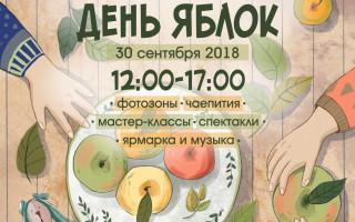 """Фестиваль """"День яблок"""" в Гатчине"""