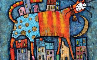 """II международная художественная выставка-фестиваль """"Портрет кошки"""""""