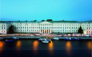 Российская национальная библиотека. Здание на наб. р. Фонтанки