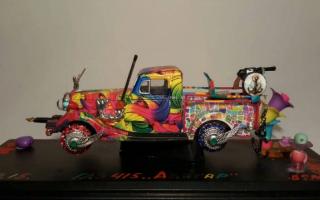 """Выставка """"Арт-авто: масштабные модели как объекты искусства"""""""
