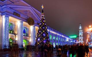 Новый год. Гостиный двор. Фото: yandex.ru