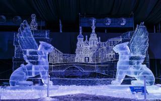 """Фестиваль ледовых скульптур: """"Ice Fantasy"""" — в Петропавловской крепости"""