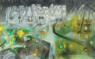 """Выставка в Эрмитаже: художника-сюрреалиста — """"Роберто Матта и четвертое измерение"""""""