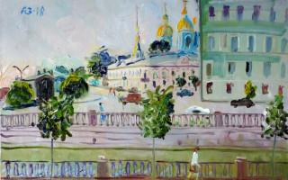 """Выставка """"Вид из Катиного окна"""" (12+) — с участием работ петербургских художников"""