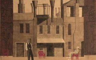 """В Театральной библиотеке бесплатная выставка В. Полуновского — """"Картинки для театра"""""""