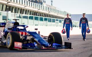 Показательные заезды болида Формула-1