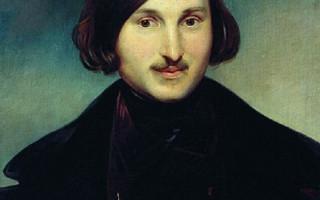 Моллер Фёдор - Портрет Н. В. Гоголя. (Wikimedia Commons)