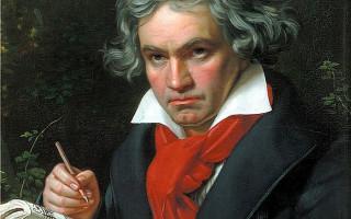 Людвиг ван Бетховен. Портрет работы Карла Штилера, 1820 г. Источник: Wikimedia Commons