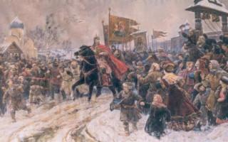 В. А.Серов. Въезд Александра Невского в Псков после Ледового побоища. 1945. ГРМ