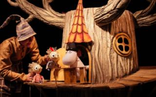 "Спектакль ""Муми-Тролль и шляпа волшебника"" по мотивам сказок Туве Янссон"