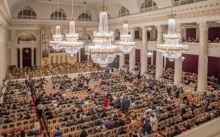 Большой зал Филармонии Ксения Жаворонкова